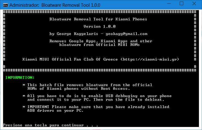 MIUI Bloatware Removal Tool 1.0.0-01.png