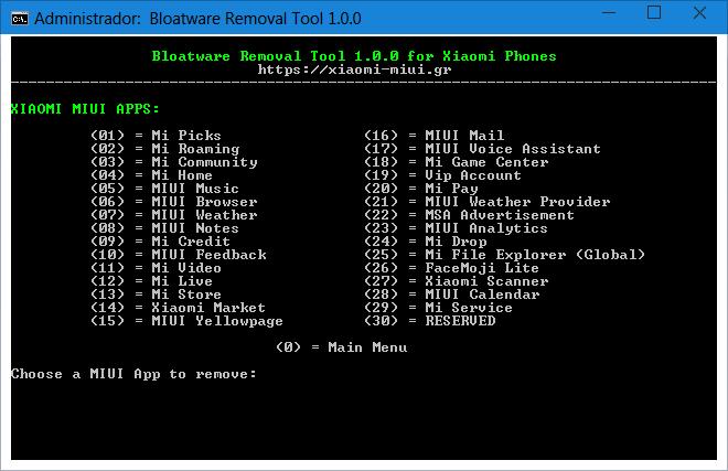 MIUI Bloatware Removal Tool 1.0.0-04.png